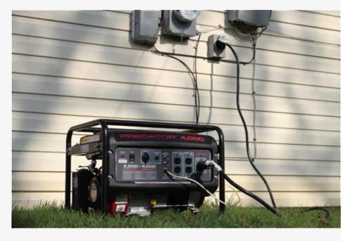 Топливные электрогенераторы на основе ДВС